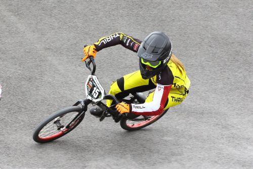 Pasaules kausa BMX superkrosā piektajā posmā Pētersone tiek līdz ceturtdaļfinālam