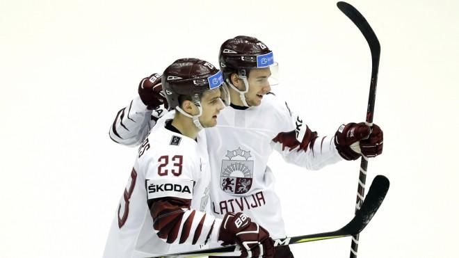 Tiešraide: ASV - Latvija 3:2 P (spēle galā)