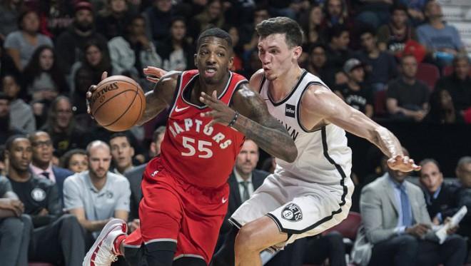 """Kurucam četri punkti """"Nets"""" sakāvē, """"Spurs"""" pēdējās sekundēs piekāpjas Atlantai"""