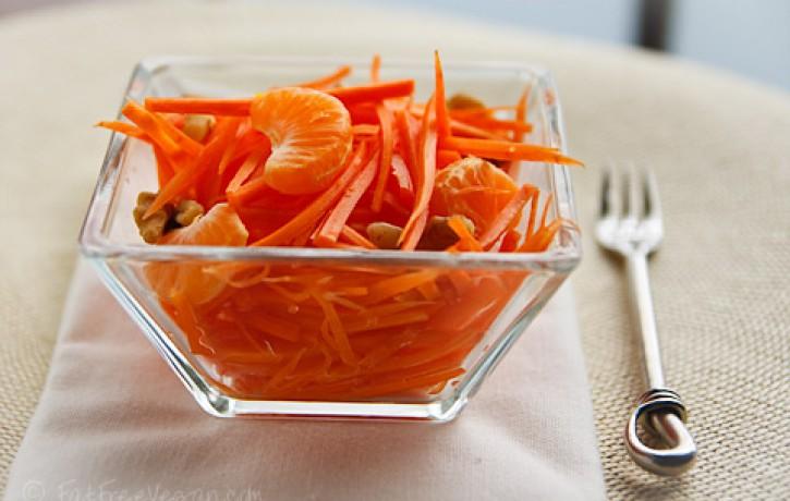 2 gardas un veselīgas burkānu salātu receptes