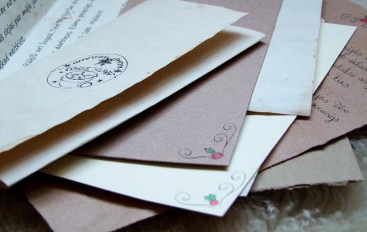 Ziemassvētku vecīša vēstule – rokraksta vērtības paraugs bērniem