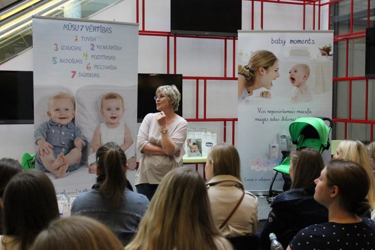Notiks bezmaksas lekcijas grūtniecēm un jaunajām māmiņām