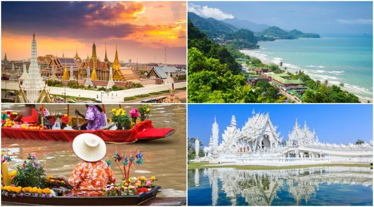 Vietas Taizemē, ko vajadzētu apskatīt