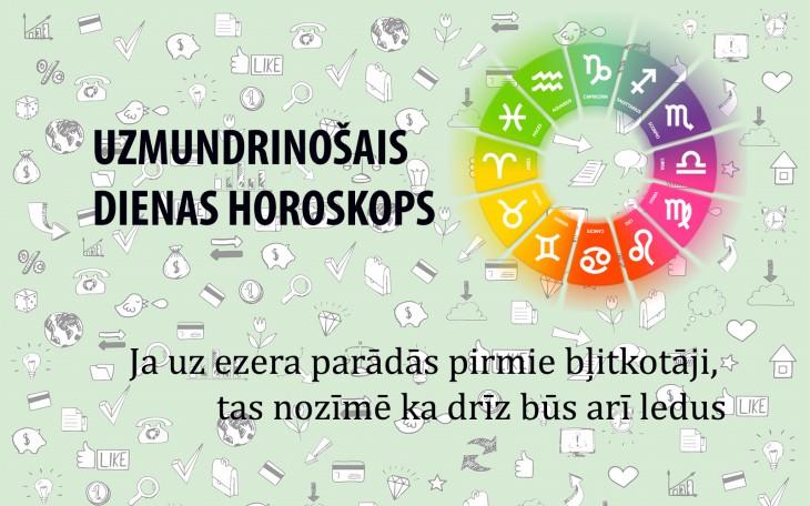 Uzmundrinošie horoskopi 3. janvārim