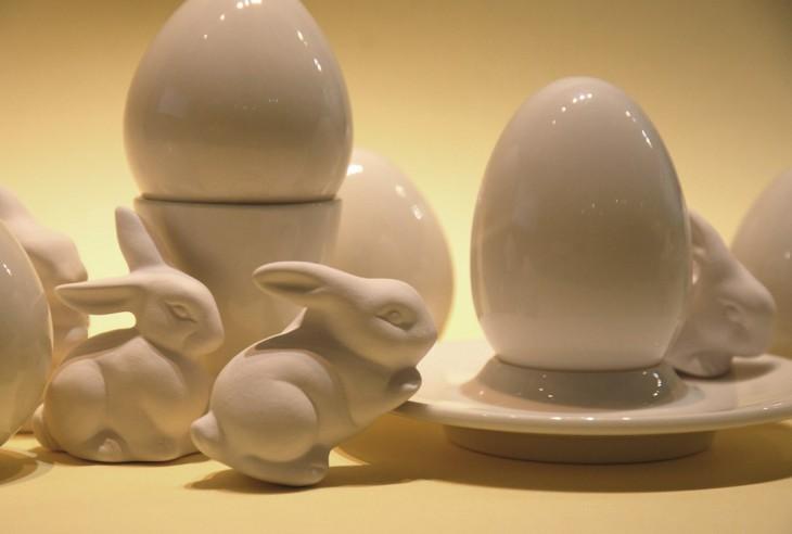 Porcelāna apgleznošanas darbnīca Lieldienās Rīgas Porcelāna muzejā 1. un 2. aprīlī