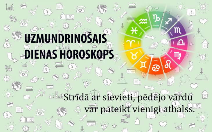 Uzmundrinošie horoskopi 18. aprīlim visām zodiaka zīmēm