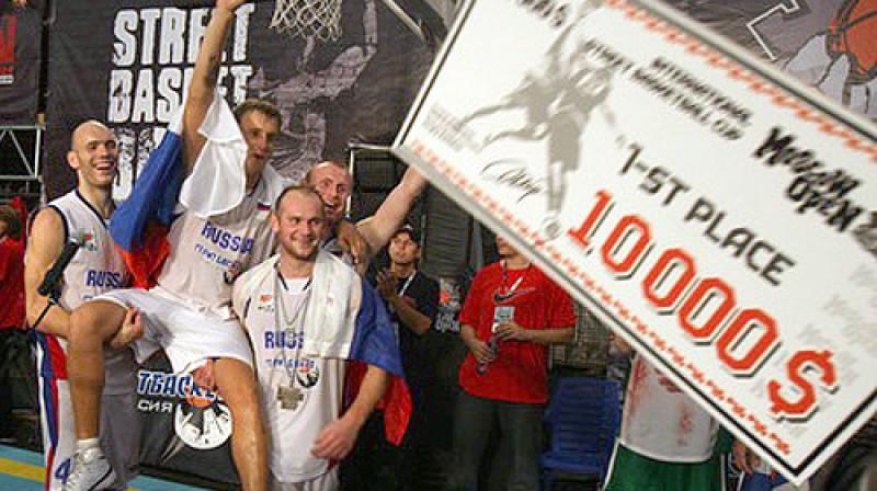 "2008.gada ""Moscow Open"" triumfēja Krievijas izlase Foto: ""Moscow Open"""