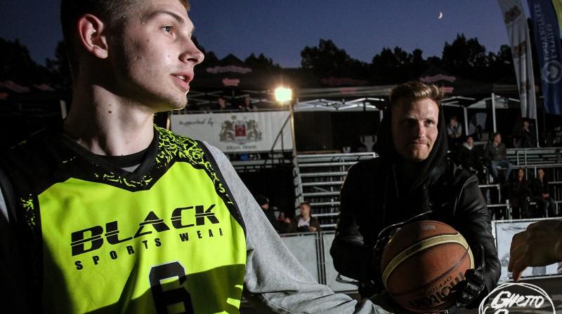 """""""Ghetto Basket"""" turnīru divkārtējs vērtīgākais spēlētājs Artūrs Ausējs Foto: Renārs Buivids (Ghetto Games)"""
