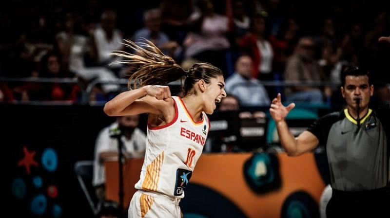 Marta Šargaja un Spānija: bronzas medaļa Pasaules kausā. Foto: FIBA