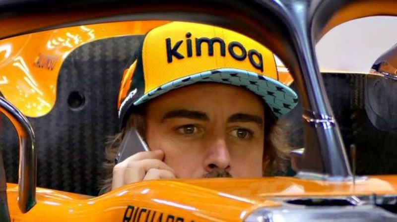 Fernando Alonso. Foto: Facebook.com/FernandoAlonsoOficial