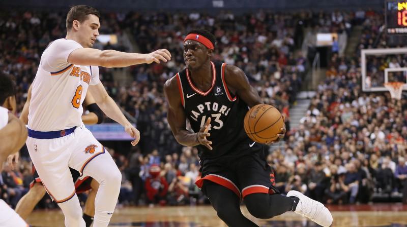 Paskāls Siakams pret ''Knicks'' aizvadīja karjeras labāko spēli. Foto: USA Today Sports/Scanpix