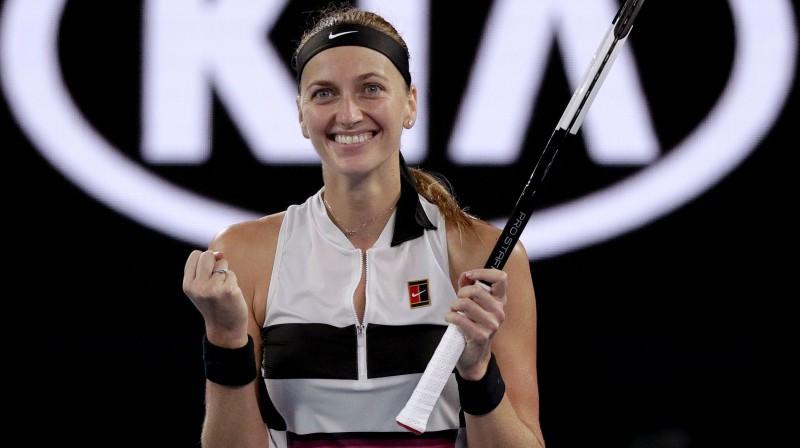 Petra Kvitova. Foto: AP/Scanpix