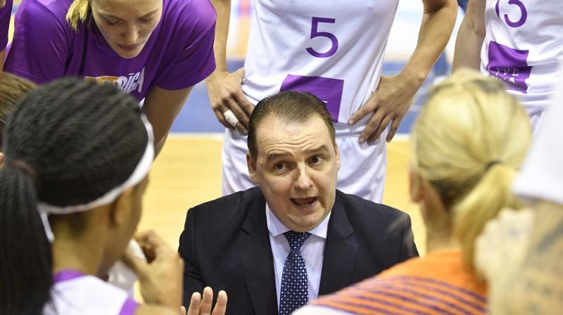 TTT galvenais treneris Mārtiņš Zībarts. Foto: Romāns Kokšarovs, f64
