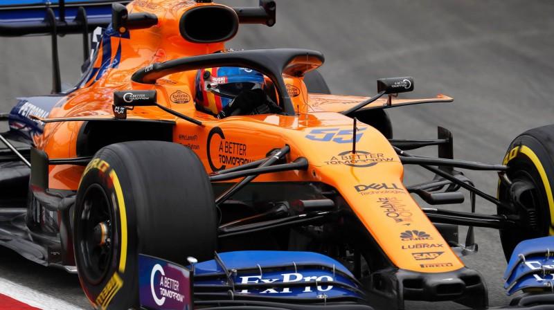 Karloss Sainss. Foto: McLaren Racing