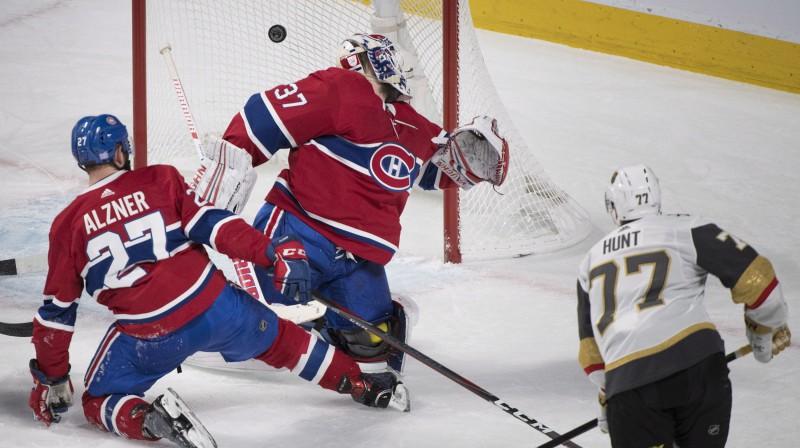 """Anti Niemi Monreālas """"Canadiens"""" vārtos. Foto: AP/Scanpix"""