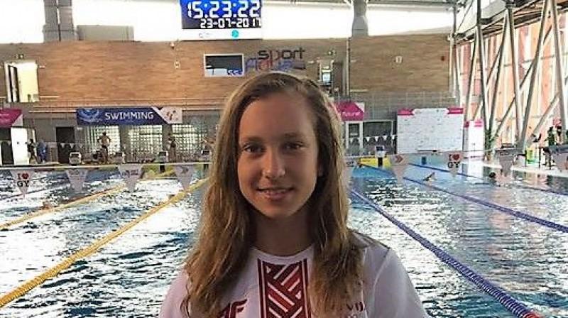 Arina Sisojeva. Foto: swimming.lv