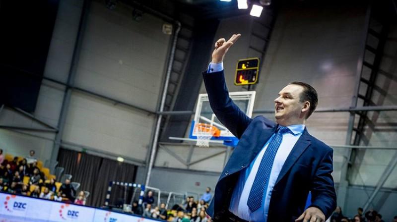 TTT galvenais treneris Mārtiņš Zībarts. Foto: Renārs Koris