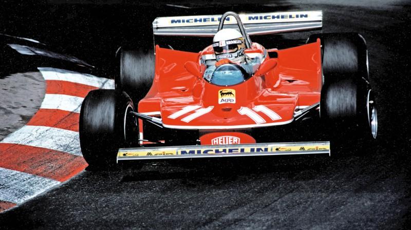 Džodijs Šekters 1979. gadā. Foto: Scuderia Ferrari