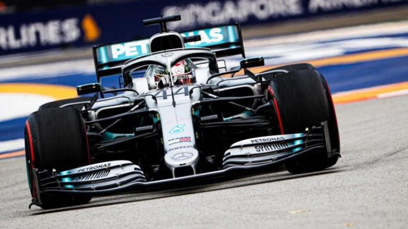 Lūiss Hamiltons. Foto: Mercedes-AMG Petronas Motorsport