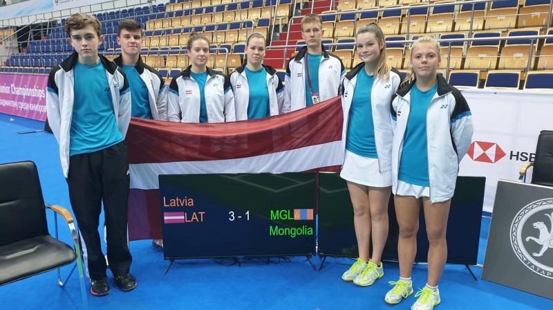 Foto: badminton.lv