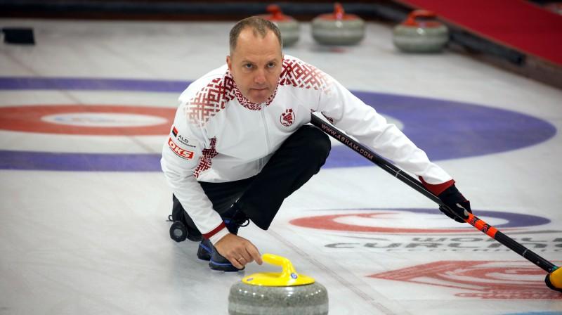 Jānis Rudzītis Latvijas jauktās izlases spēlētājs Foto: WCF/Richard Gray