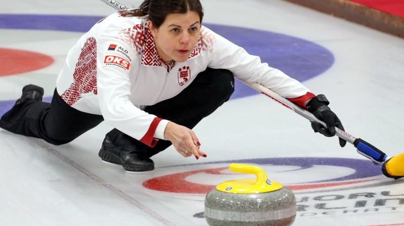 Jeļena Rudzīte Latvijas jauktās izlases spēlētāja Foto: WCF/Richard Gray