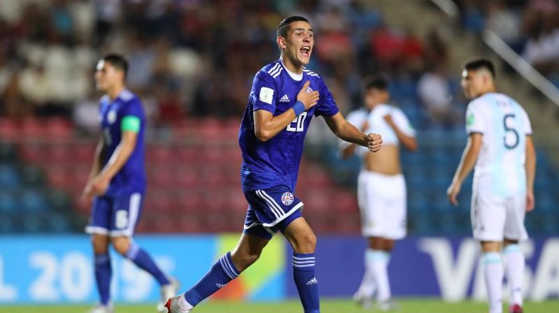 Paragvajas U17 izlases futbolists Djego Toress. Foto: fifa.com