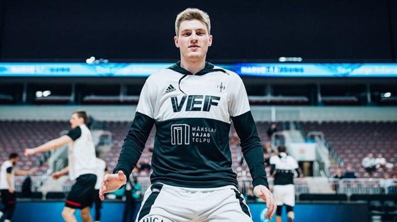 Artūrs Kurucs. Foto: FIBA