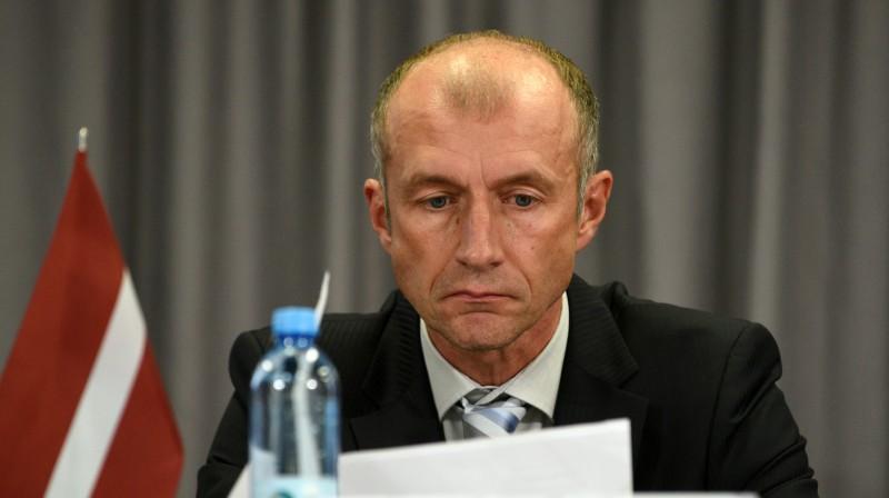LFF pirmais viceprezidents Arturs Zakreševskis. Foto: LFF
