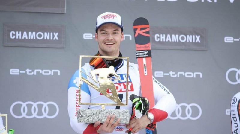 Loīks Meilārs uzvar paralēlā milzu slaloma kopvērtējumā. Foto: Ledauphine.com