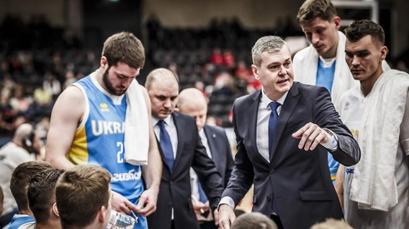 Ainars Bagatskis 2020. gada 20. februārī Austrijas pilsētā Grācā. Foto: FIBA