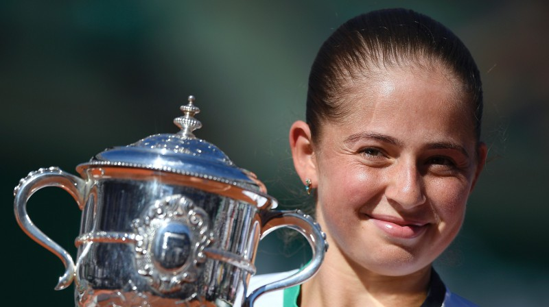 Aļona Ostapenko. Foto: AFP/Scanpix