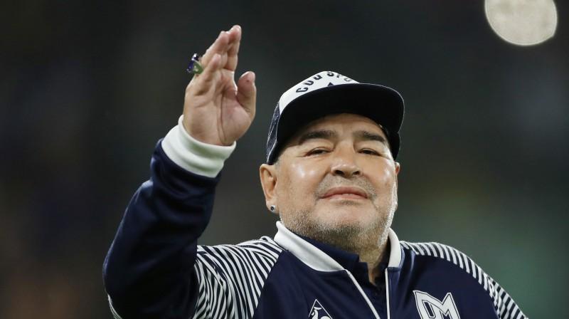 Djego Maradona. Foto: Reuters/Scanpix