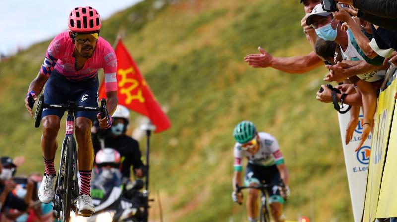 Daniels Martiness traucas pretī uzvarai. Foto: AFP/Scanpix