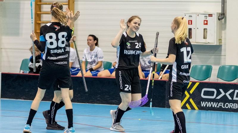 "Kocēnu ""Rubene-1"". Foto; Raivo Sarelainens, floorball.lv"