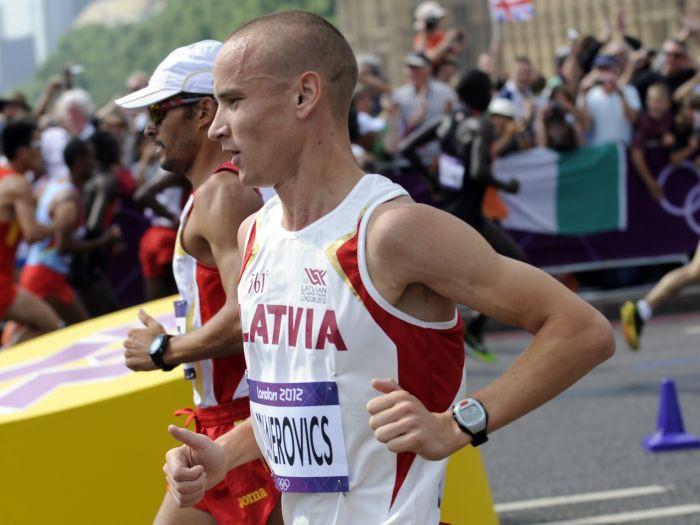 Žolnerovičs Vīnē labo Latvijas rekordu maratonā