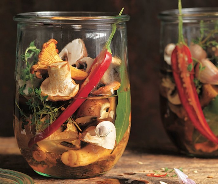9 dažādas sēņu receptes ziemai