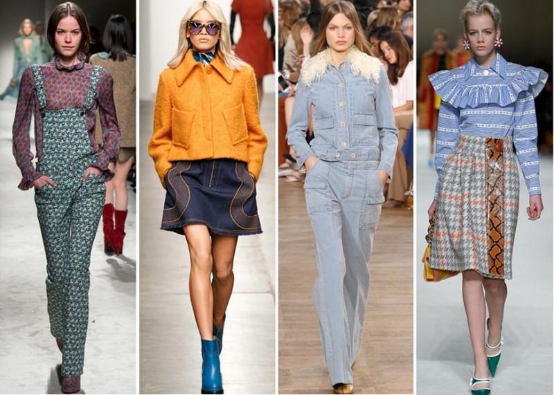 Rudens modes tendences – klasisks tvīds, karija dzeltens un košas lūpas