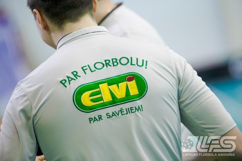 ELVI florbola līgā trīs spēles, Ulbrokā cīņa par 3.vietu