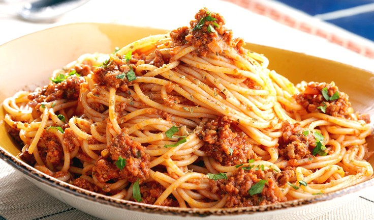 Itāļu pasta ar malto gaļu