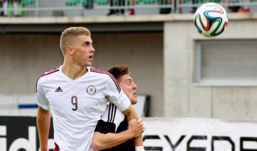 Latvijas U21 izlase Sportacentrs.com tiešraidē uzņems Lietuvu