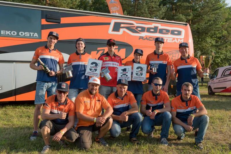 ''Rodeo'' izcīna uzvaru Dobelē, Ratseps MX1 klases čempions