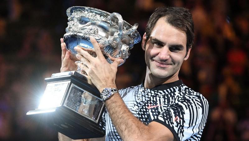 "Federers pirmoreiz Melburnā pieveic Nadalu un izcīna 18. ""Grand Slam"" titulu"