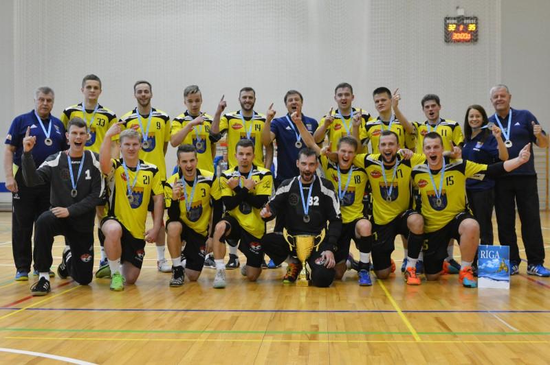 """""""Tenax"""" pēc gada pārtraukuma triumfē Rīgas čempionātā"""