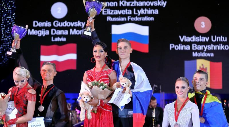 Latvijas pārim sudrabs pasaules čempionātā 10 dejās jauniešiem