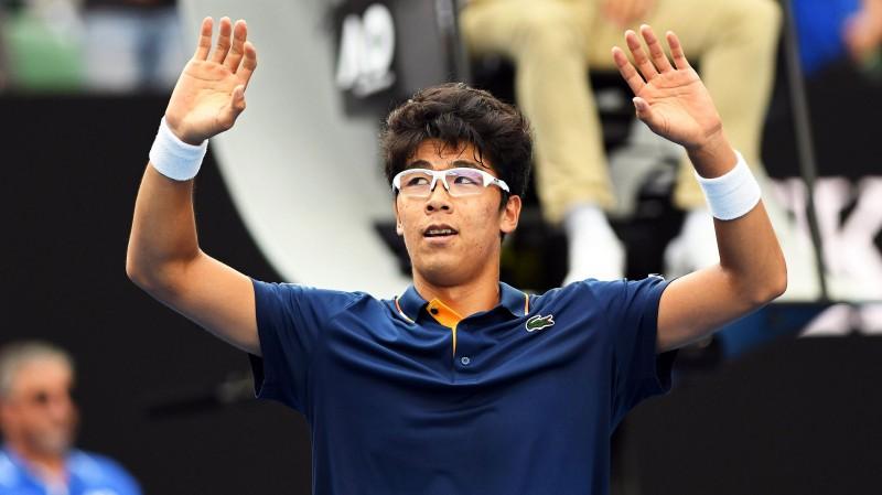 """Zverevs zaudē Čonam, kārtējo reizi neizturot """"Grand Slam"""" spēlē"""