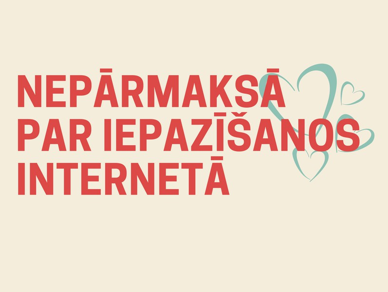 PTAC brīdina: nepārmaksā par iepazīšanos internetā