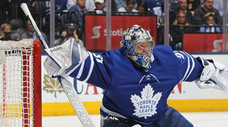 """""""Maple Leafs"""" pamatvārtsargs Andersens dosies palīgā Latvijas pretiniecei Dānijai"""