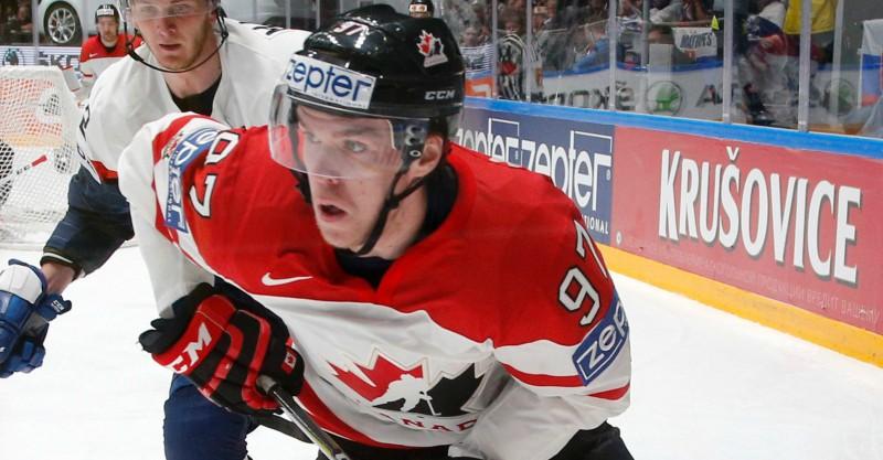 """Makdeivids: """"Pasaules čempionāts nav labākais variants, kur maijā spēlēt hokeju"""""""