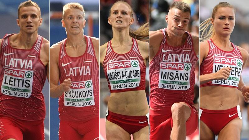 Sportacentrs.com vērtē Latvijas vieglatlētu sniegumu EČ Berlīnē